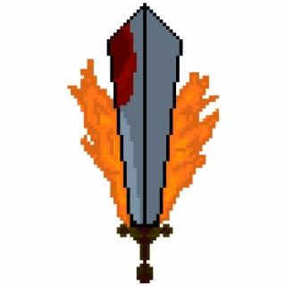 Calgary Flames Logo Png Https Cdn Shopify Flames Pixel Art Pixel Art Calgary Flames Pixel Art 2314517 Vippng