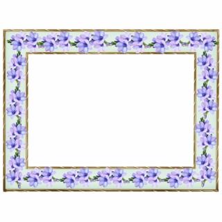 Floral Pattern Png Frame Floral Design Pattern Frame Bunga