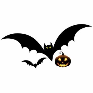 Halloween Bat Png Svg Royalty Free Stock Bats Clipart Desenho