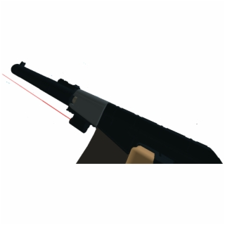 Roblox Transparent Laser Gun Laser Tag Gun War In Roblox Ranged Weapon Transparent Png