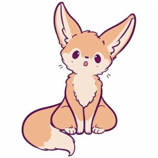 Fennec Fox Png Fennecfox Fox Cute Kawaii Animal Naomilord