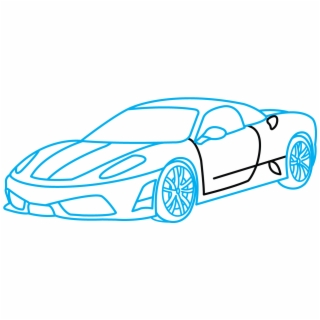 Collection Of Free Cars Drawing Pencil Download On , Draw A