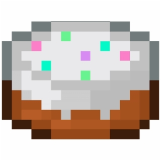 Minecraft Cake Png Images Minecraft Cake Transparent Png Vippng