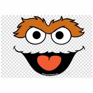 Oscar Face Sesame Street Clipart Oscar The Grouch Elmo