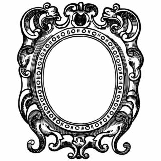 Borders And Frames Picture Frames Ornament Decorative Ornate Frame Png Transparent Transparent Png Download 915162 Vippng