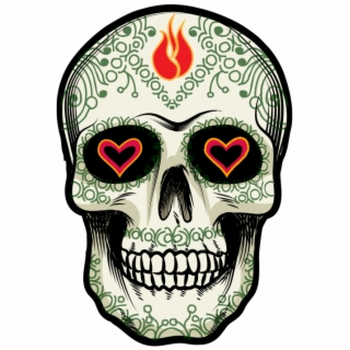 Sugskull Calavera Tete Tête De Mort Mexicaine