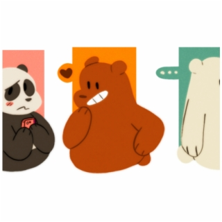 We Bare Bears Png Clipart Wallpaper Blink We Bare Bears Panda Hd 4942545 Vippng