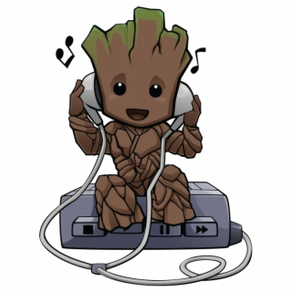 Galaxy Background Png Baby Groot Png Image Background