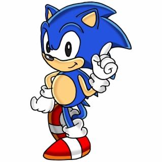 Classic Sonic Png Classic Sonic The Hedgehog Png Sonic The Hedgehog Sonic Adventure 5090454 Vippng