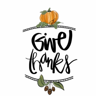 November give thanks. Giving png images transparent