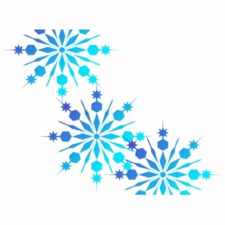 Snowflake Corner Cliparts - Transparent Background Snowflake Border PNG  Image | Transparent PNG Free Download on SeekPNG