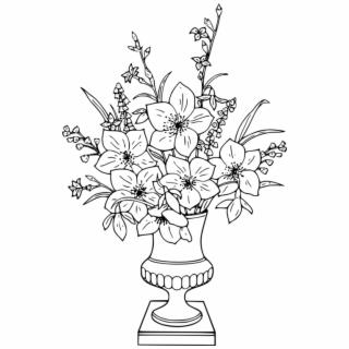 flower bouquet clipart png - Adult Coloring Pages Flower ...