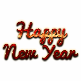 Happy New Year Logo Png | Transparent PNG Download #401347
